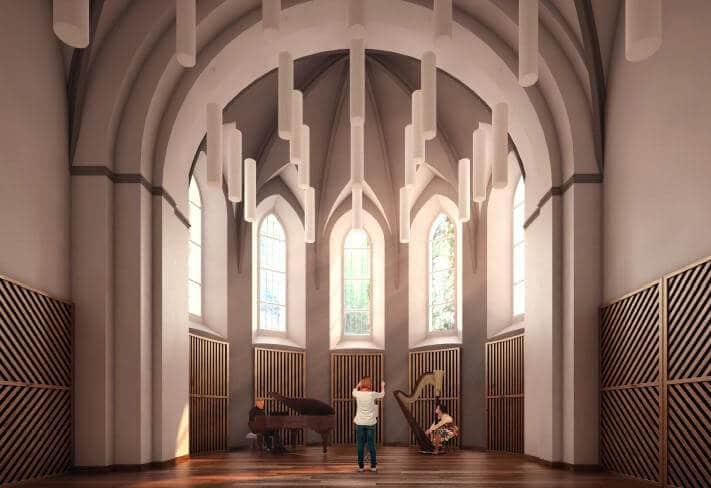 « Réhabilitation d'un centre de musique au Puy en Velay »