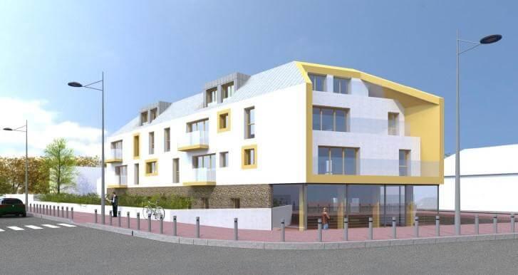 « Construction de 11 logements et un local commercial à Sèvres »
