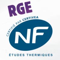 RGE CERTIFIE PAR CERTIVEA NF ETUDES THERMIQUES